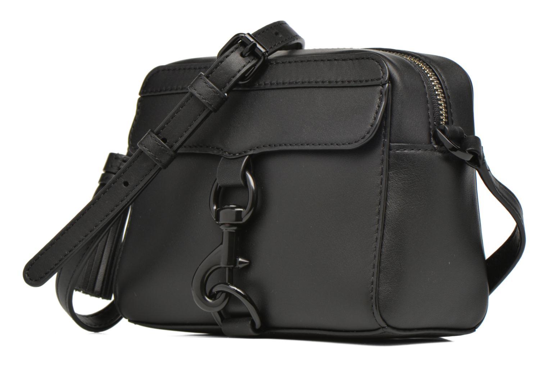 Sacs à main Rebecca Minkoff Mab Camera bag Noir vue portées chaussures