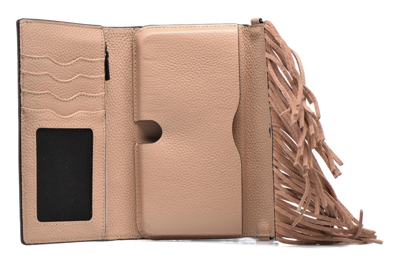 Sacs à main Rebecca Minkoff Fringe Leather crossbody phone holder Beige vue derrière
