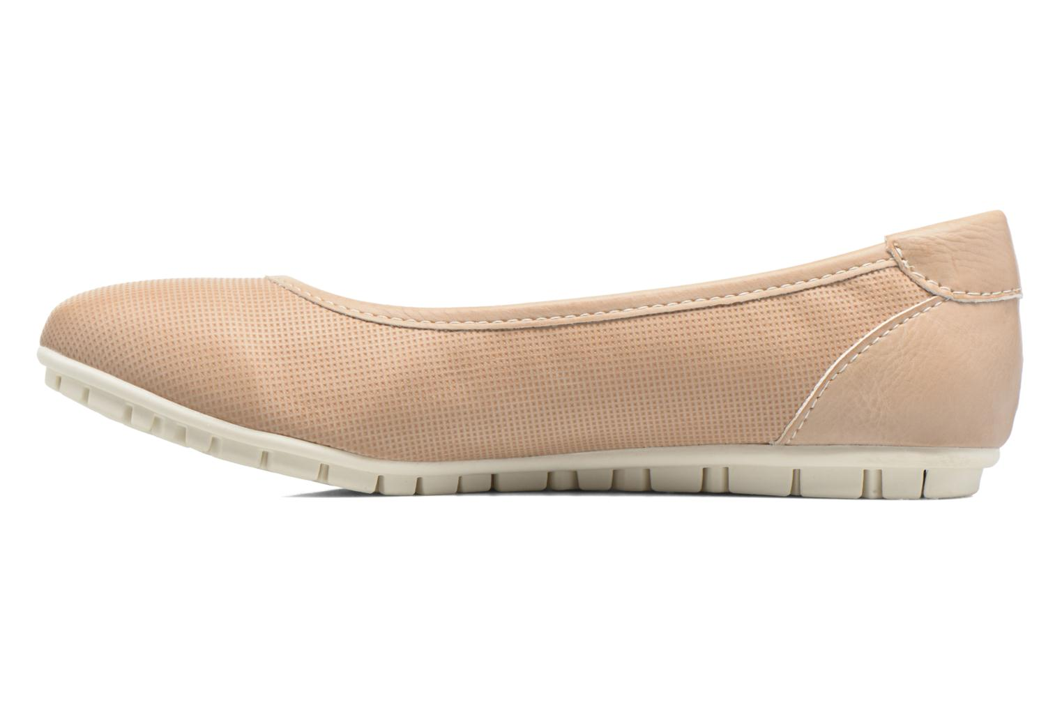 Ballet pumps Dockers Jama Pink front view