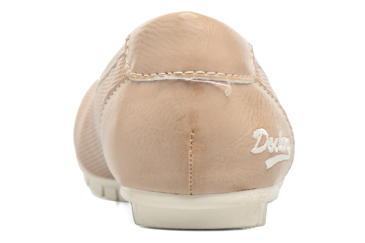 Ballet pumps Dockers Jama Pink view from the right