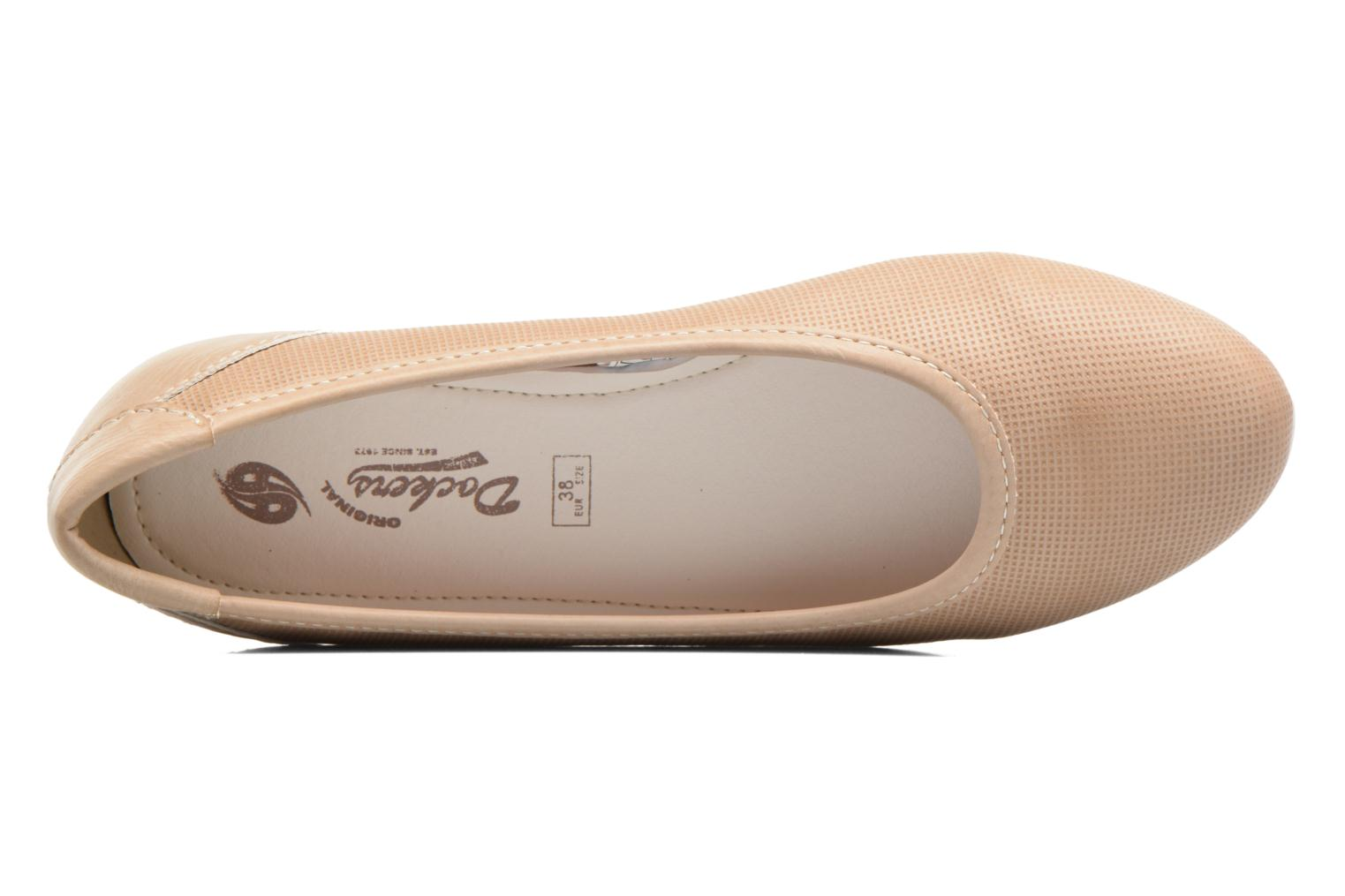 Ballet pumps Dockers Jama Pink view from the left