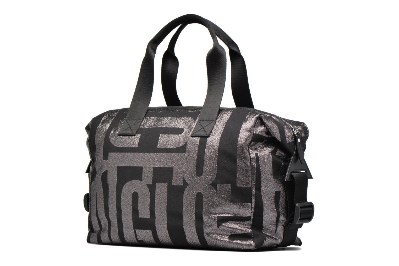 Handtaschen Vivienne Westwood Sheffield Shoulderbag grau ansicht von rechts