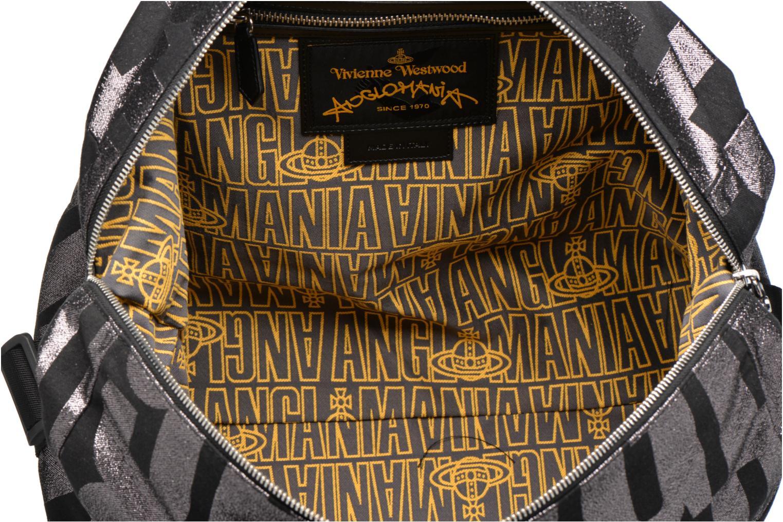 Handtaschen Vivienne Westwood Sheffield Shoulderbag grau ansicht von hinten