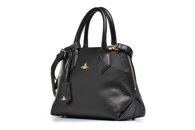 Sacs à main Vivienne Westwood Balmoral small Handbag Noir vue portées chaussures
