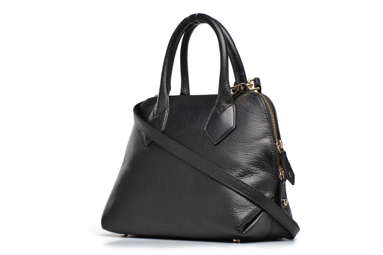 Sacs à main Vivienne Westwood Balmoral small Handbag Noir vue droite