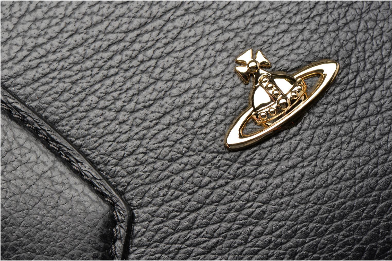 Sacs à main Vivienne Westwood Balmoral small Handbag Noir vue gauche
