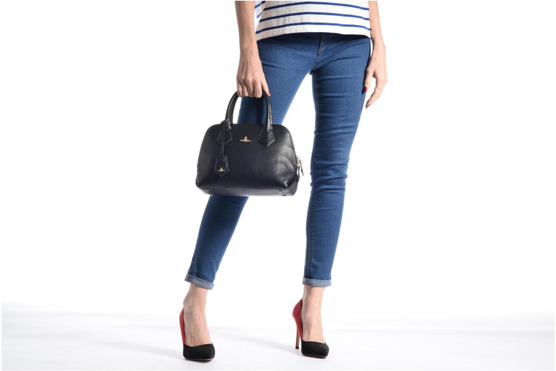 Sacs à main Vivienne Westwood Balmoral small Handbag Noir vue haut