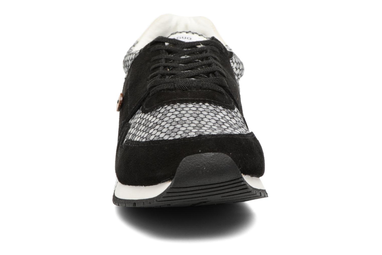 Baskets Faguo Olive12 Noir vue portées chaussures