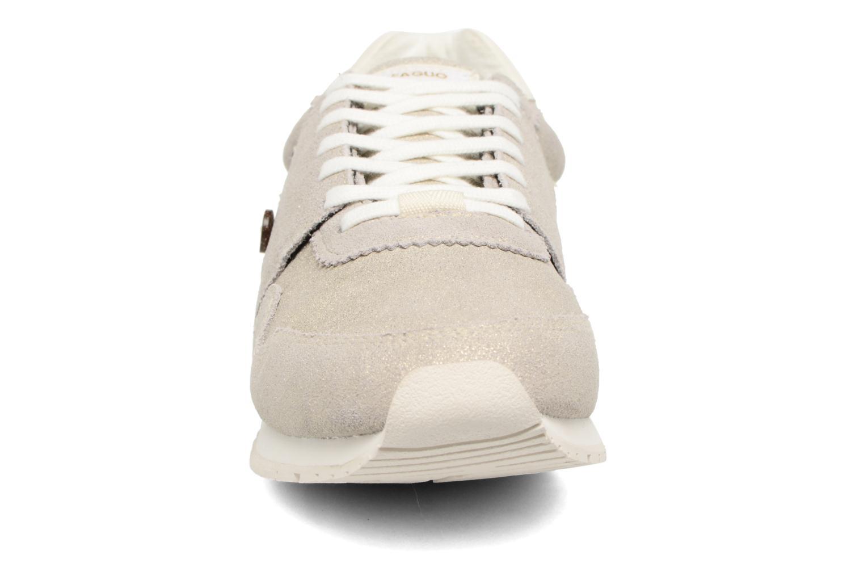 Baskets Faguo Olive03 Argent vue portées chaussures