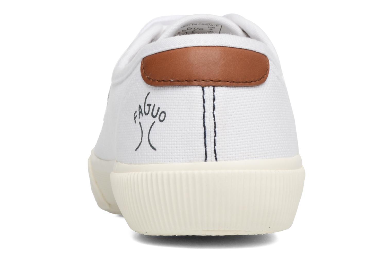 Baskets Faguo Birch01 Blanc vue droite
