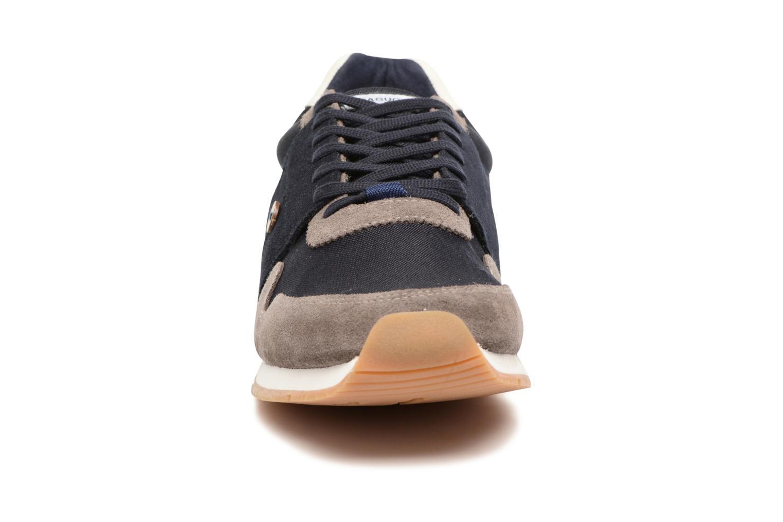 Baskets Faguo Olive92 Bleu vue portées chaussures