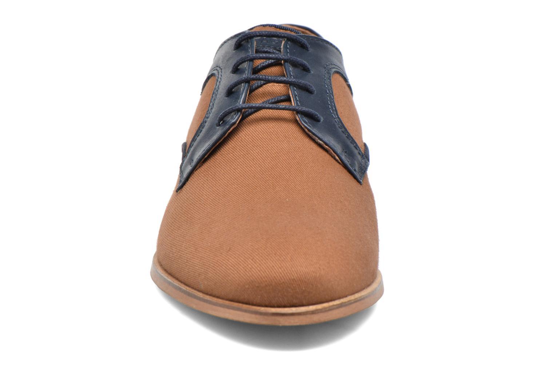 Chaussures à lacets Faguo Nordmann01 Marron vue portées chaussures