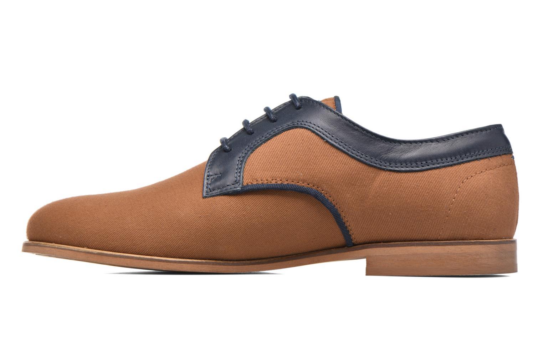 Chaussures à lacets Faguo Nordmann01 Marron vue face