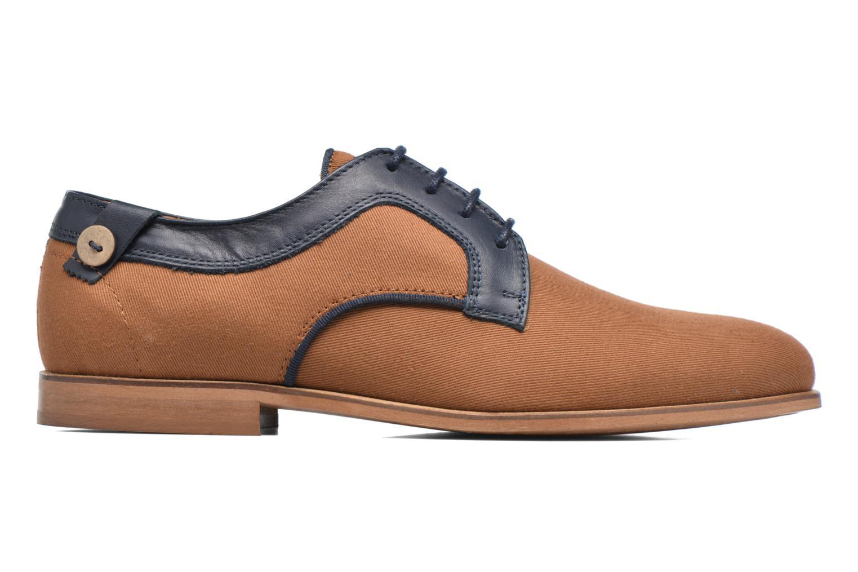 Chaussures à lacets Faguo Nordmann01 Marron vue derrière