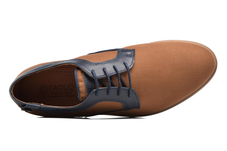 Chaussures à lacets Faguo Nordmann01 Marron vue gauche
