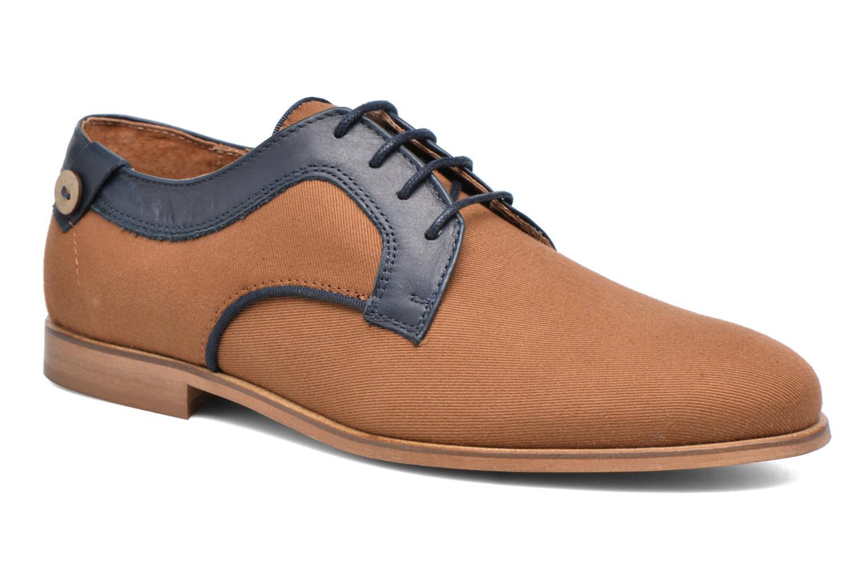 Chaussures à lacets Faguo Nordmann01 Marron vue détail/paire