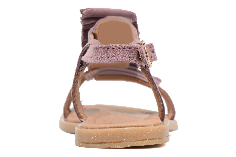 Sandales et nu-pieds Bisgaard Jona Rose vue droite