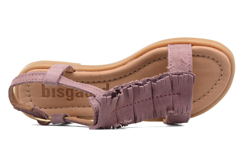 Sandales et nu-pieds Bisgaard Jona Rose vue gauche