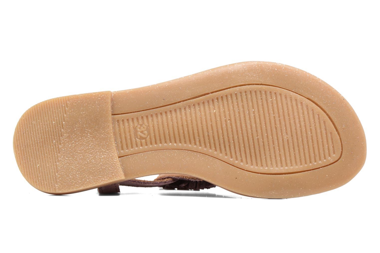 Sandali e scarpe aperte Bisgaard Jona Rosa immagine dall'alto