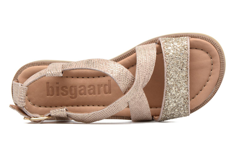Sandales et nu-pieds Bisgaard Mia Or et bronze vue gauche