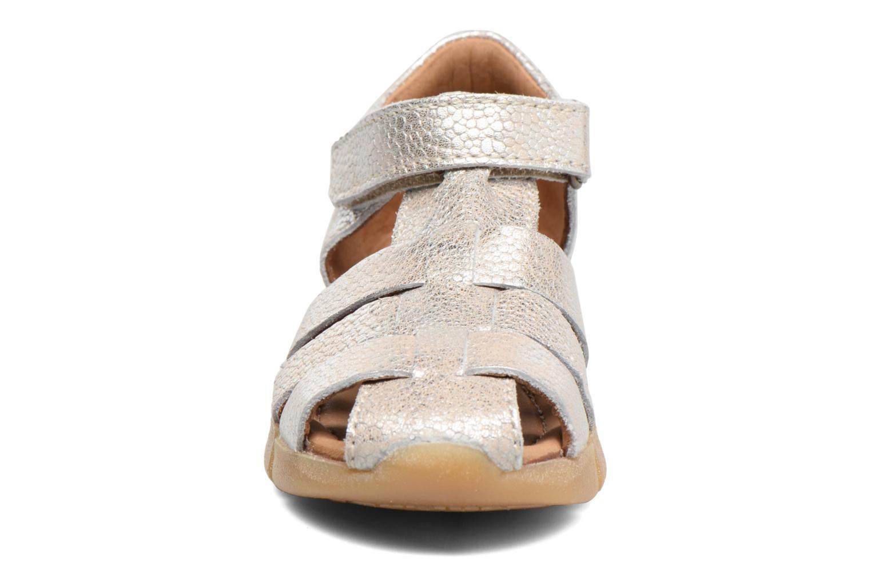 Sandales et nu-pieds Bisgaard Kaj Argent vue portées chaussures