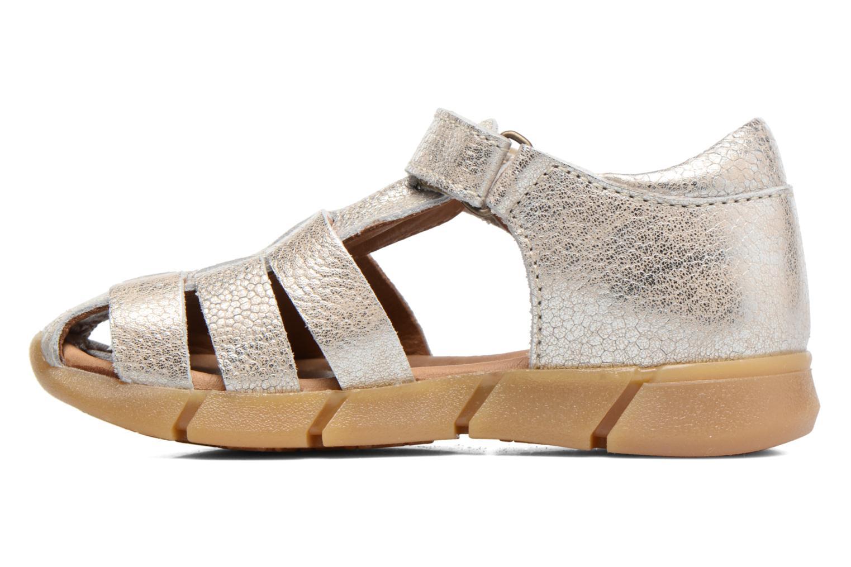 Sandales et nu-pieds Bisgaard Kaj Argent vue face