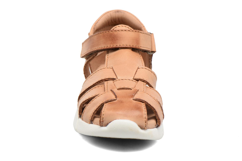 Sandales et nu-pieds Bisgaard Jister Marron vue portées chaussures