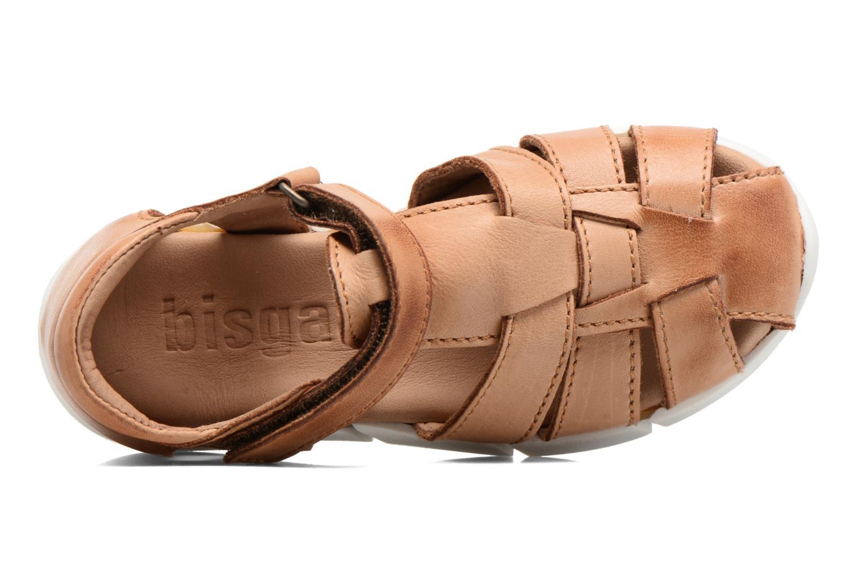 Sandales et nu-pieds Bisgaard Jister Marron vue gauche