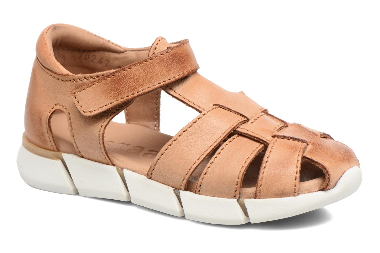 Sandales et nu-pieds Bisgaard Jister Marron vue détail/paire