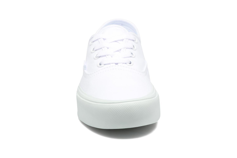 Baskets Vans Authentic Lite W Blanc vue portées chaussures