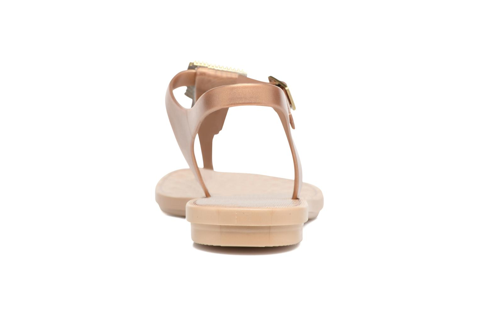 Sandals Grendha Jewel Sandal Beige view from the right
