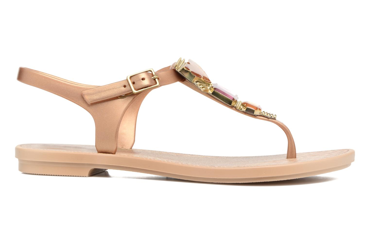 Sandals Grendha Jewel Sandal Beige back view