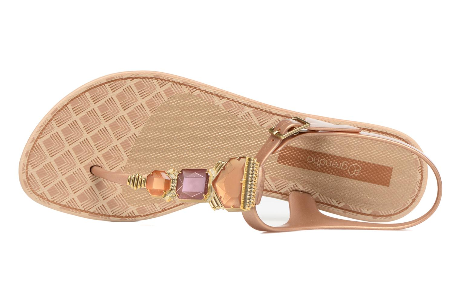 Sandals Grendha Jewel Sandal Beige view from the left