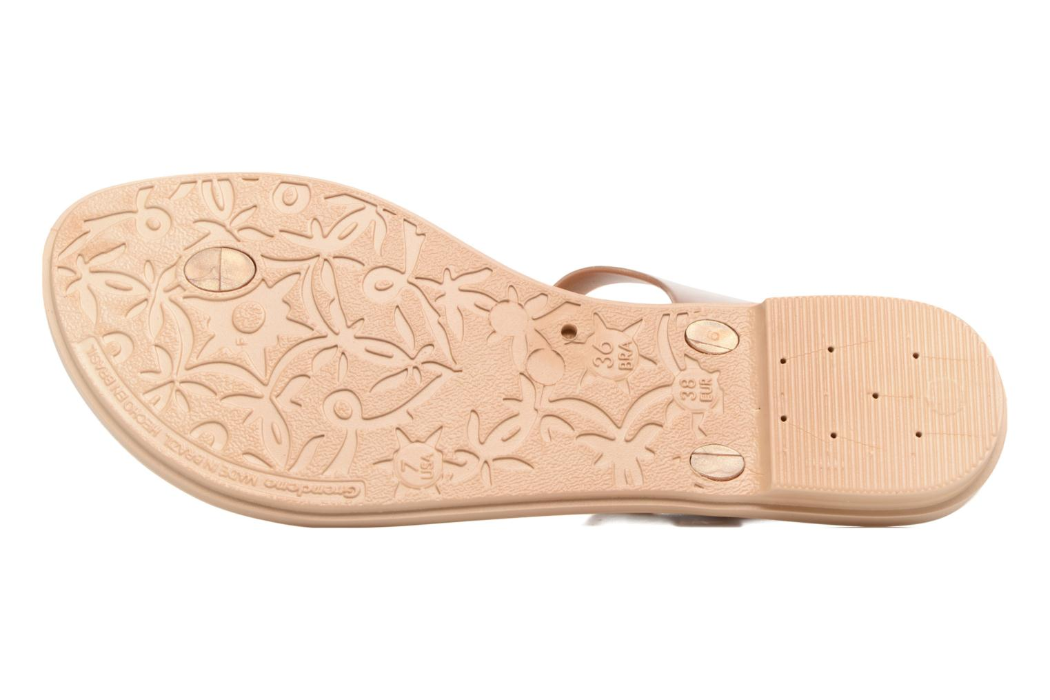 Sandals Grendha Jewel Sandal Beige view from above