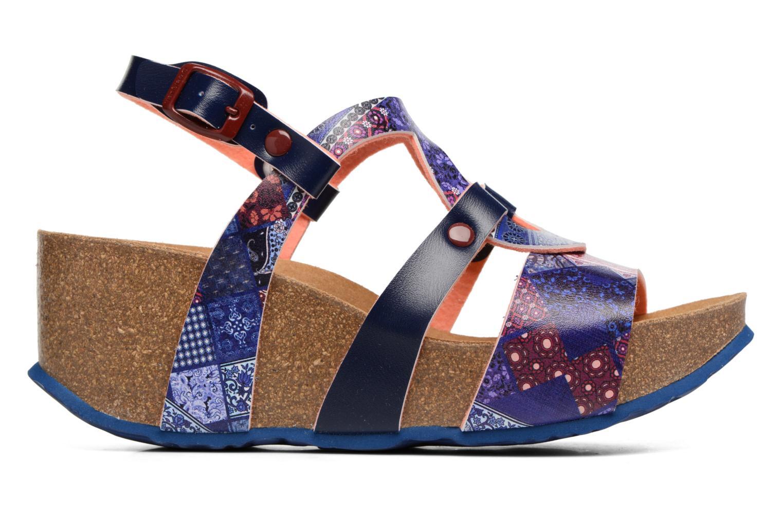 Sandales et nu-pieds Desigual SHOES_BIO 9 Multicolore vue derrière