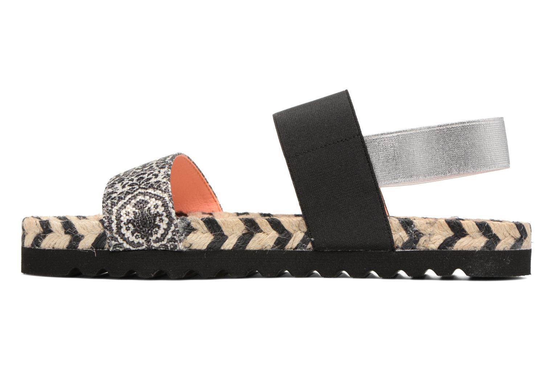 Sandals Desigual SHOES_FORMENTERA Black front view