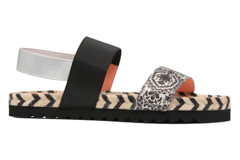 Sandals Desigual SHOES_FORMENTERA Black back view
