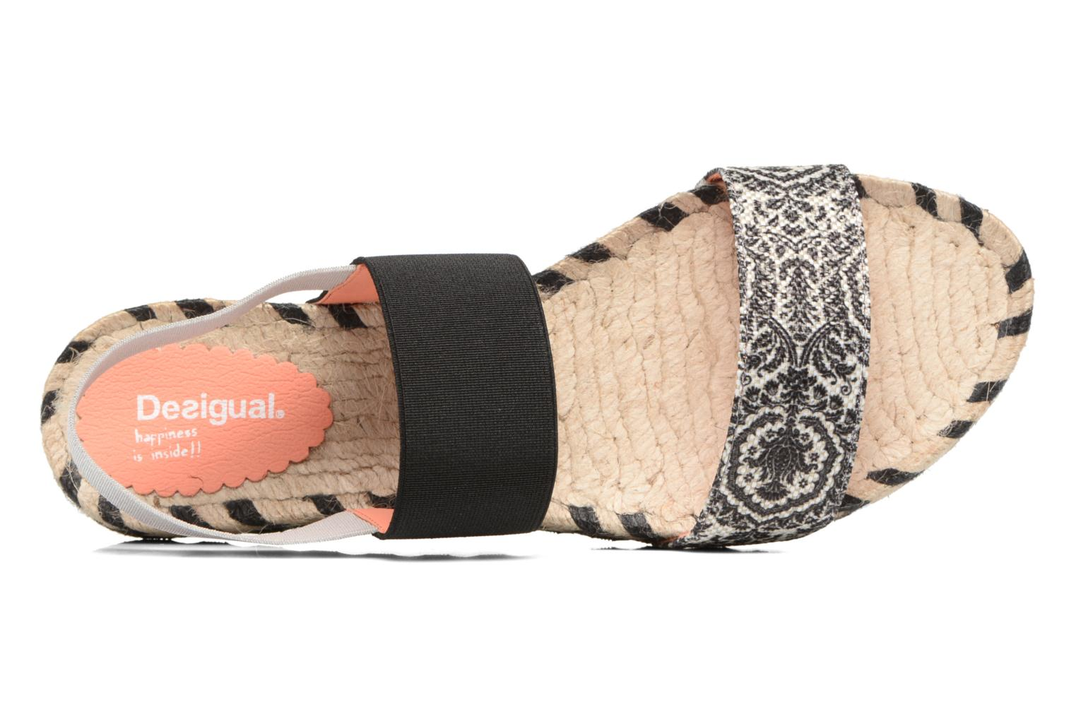 Sandalen Desigual SHOES_FORMENTERA Zwart links