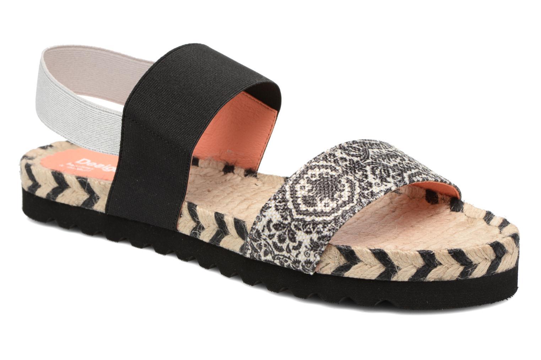 Sandals Desigual SHOES_FORMENTERA Black detailed view/ Pair view