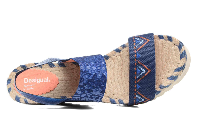 Sandalias Desigual SHOES_IBIZA Multicolor vista lateral izquierda