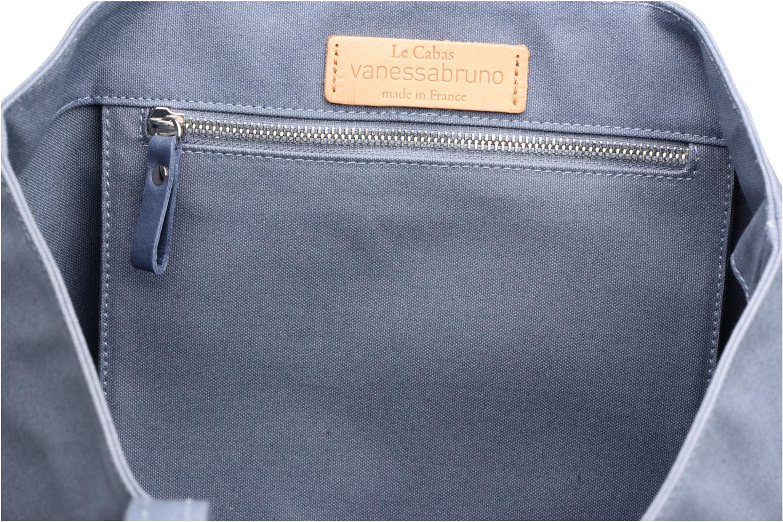 Cabas coton paillettes M+ Azur