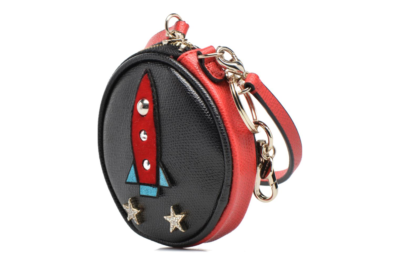 Divers Guess MIX MATCH KEYRING Wristlet keychain Noir vue portées chaussures