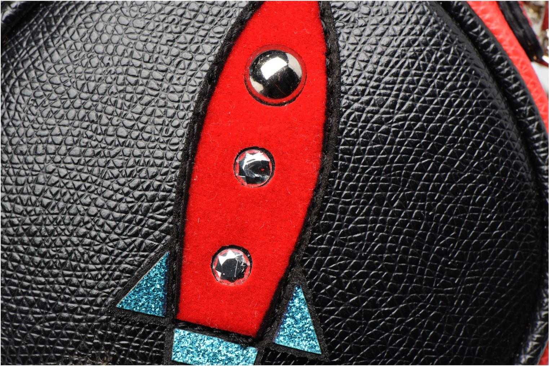 Divers Guess MIX MATCH KEYRING Wristlet keychain Noir vue gauche