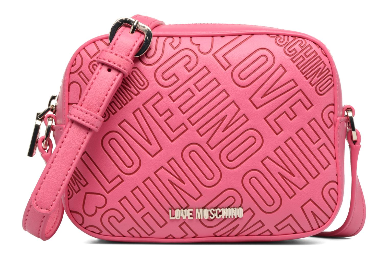 Sacs à main Love Moschino Embossed logo Crossbody Rose vue détail/paire