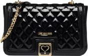 Patent quilted Shoulder bag