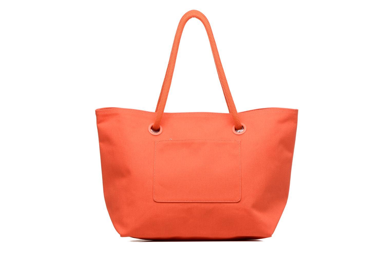 Sacs à main Lacoste Summer Shopping bag L Orange vue face