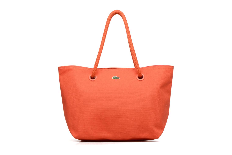Sacs à main Lacoste Summer Shopping bag L Orange vue détail/paire
