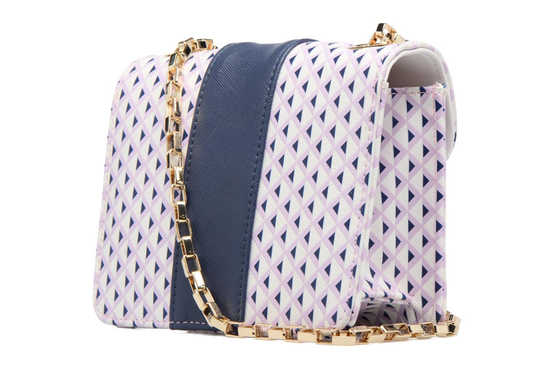 Handtaschen L'Aetelier Caesars ANDY Shoulder bag S blau ansicht von rechts