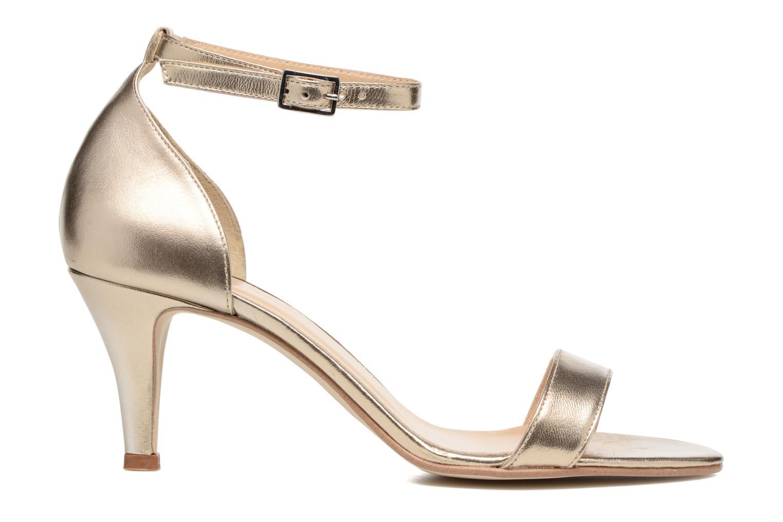 Sandales et nu-pieds Georgia Rose Esmi Or et bronze vue derrière