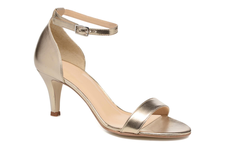 Sandales et nu-pieds Georgia Rose Esmi Or et bronze vue détail/paire